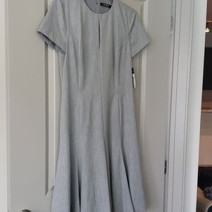 Lauren Ralph Lauren gray dress